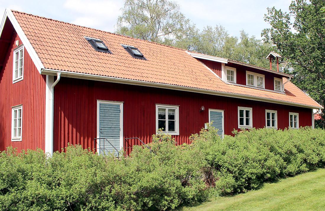 Hembygdsmuseet, Algutsboda Hembygdsförening, foto: Leif Hellerin