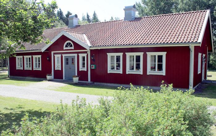 Nybygget, Algutsboda Hembygdsförening, foto: Leif Hellerin
