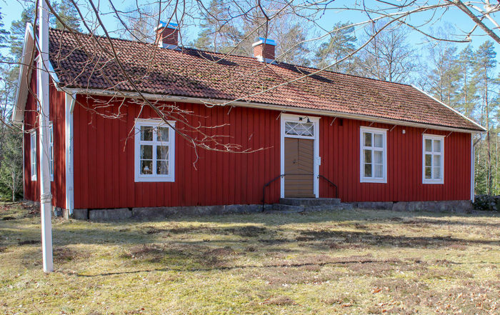 Persmo skolmuseum, Algutsboda Hembygdsförening, foto: Leif Hellerin
