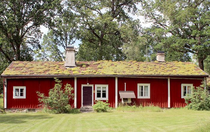 Stekaremålastugan, Algutsboda Hembygdsförening, foto: Leif Hellerin