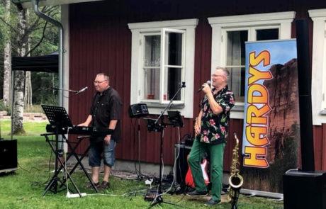 "Bengt ""Hardy"" Karlsson och Kurt Lindblom"