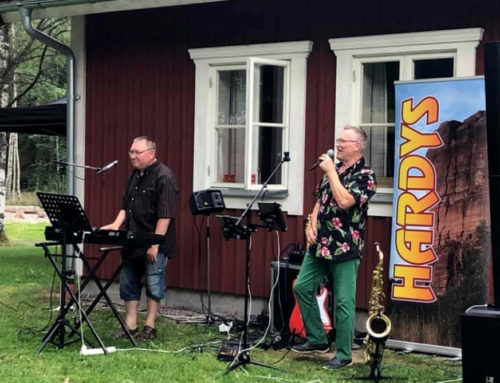 "Video: Bengt ""Hardy"" Karlsson och Kurt Lindblom spelar ""In Your Arms"""