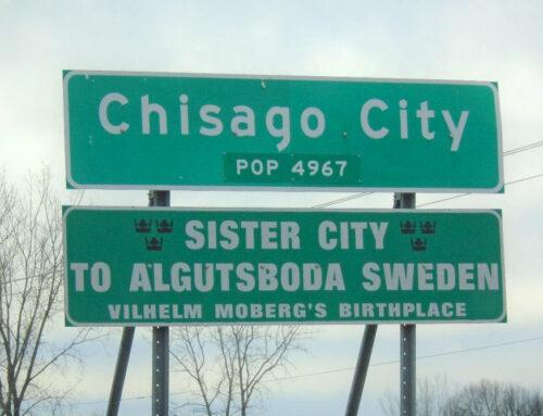 Dokument: Vänortssamarbete Algutsboda – Chisago City, Minnesota