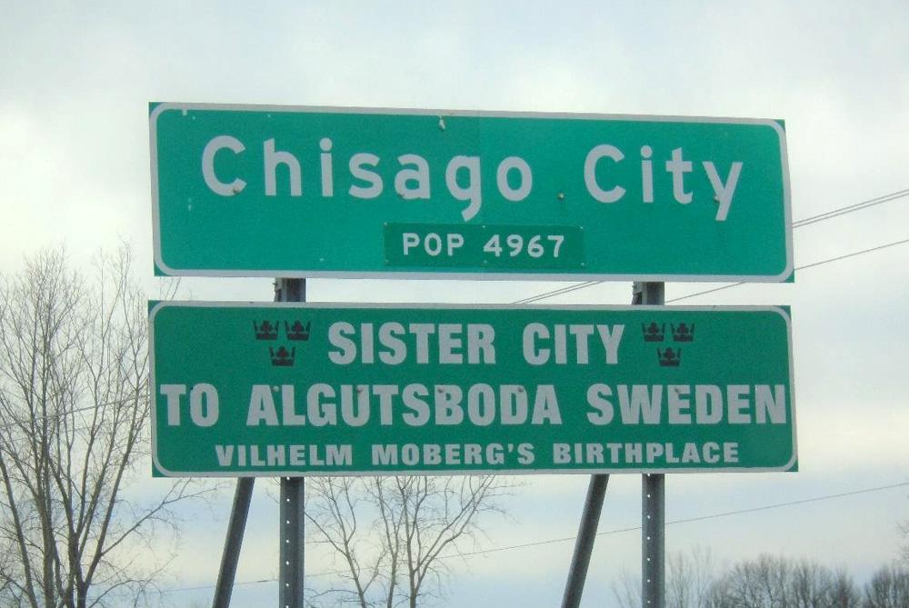 Vänortssamarbete Algutsboda – Chisago City, Minnesota